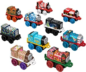 Fisher-Price Thomas & Friends Happy Holidays MINIS 10-Pack [Amazon Exclusive]