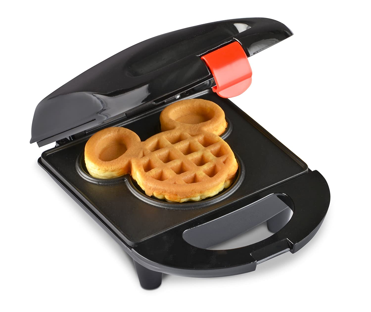 Uncategorized Disney Kitchen Appliances amazon com disney dcm 9 mickey mini waffle maker black kitchen dining