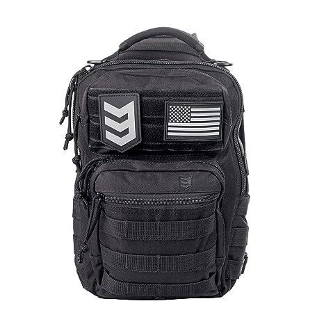 76abb9d93efd Amazon.com   3V Gear Posse EDC Sling Pack - Black   Sports   Outdoors