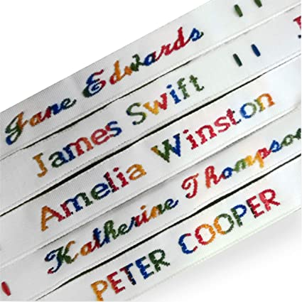 New Printed Iron-on School Name Tapes Name Tags Labels Quality School Labels