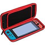Bullspring Anti-Scratch Hard Case para Nintendo switch, Estuche de transporte de viaje para la Nintendo switch Y protectores de gel con tapas de agarre de pulgar