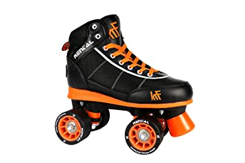 KRF The New Urban Concept Rental Sr Patines Paralelo 4 Ruedas, Negro, 40-