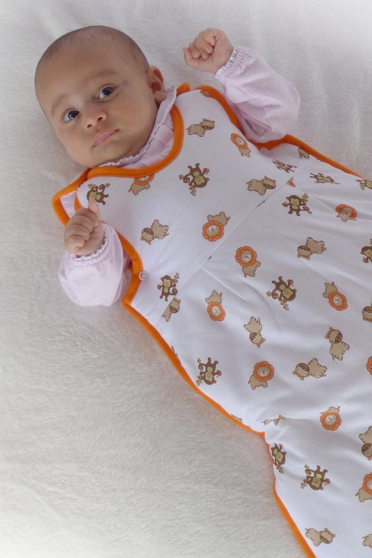 f/ür Neugeborene 56 cm Schlummersack warm gef/ütterter Babyschlafsack f/ür den Winter Winter Einhorn
