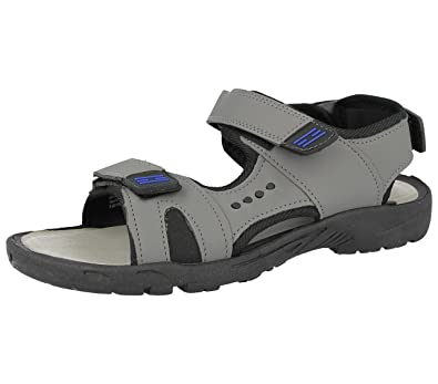 8eebd93373b7 Mens Faux Leather Adjustable Touch Fasten Straps Comfort Summer Gladiator  Beach Sandals Size 7-12