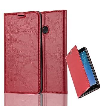 Cadorabo Funda Libro para Xiaomi Mi MAX 2 en Rojo Manzana: Amazon.es: Electrónica