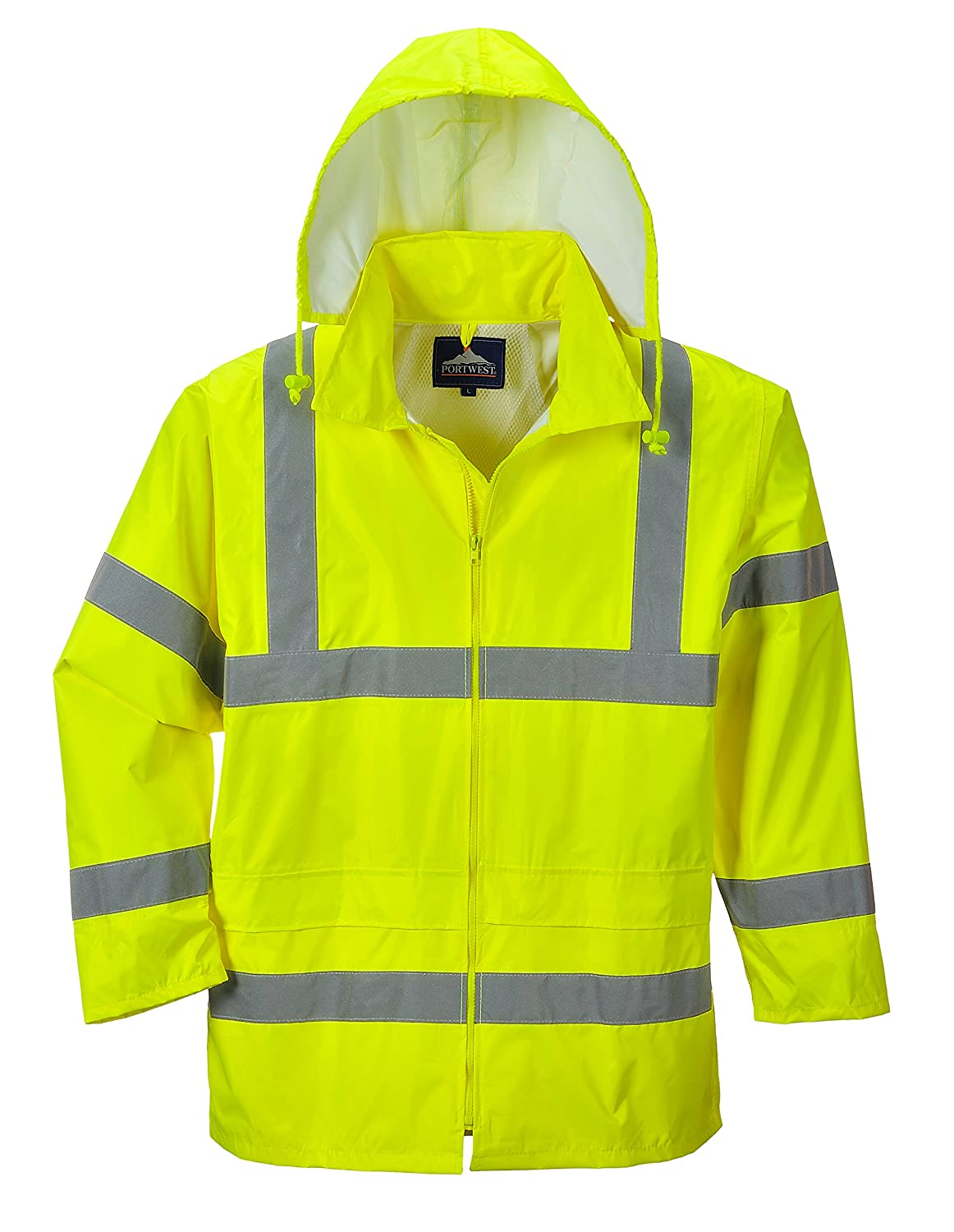 Portwest Waterproof Rain Jacket, Lightweight H-RALA2015-PW011