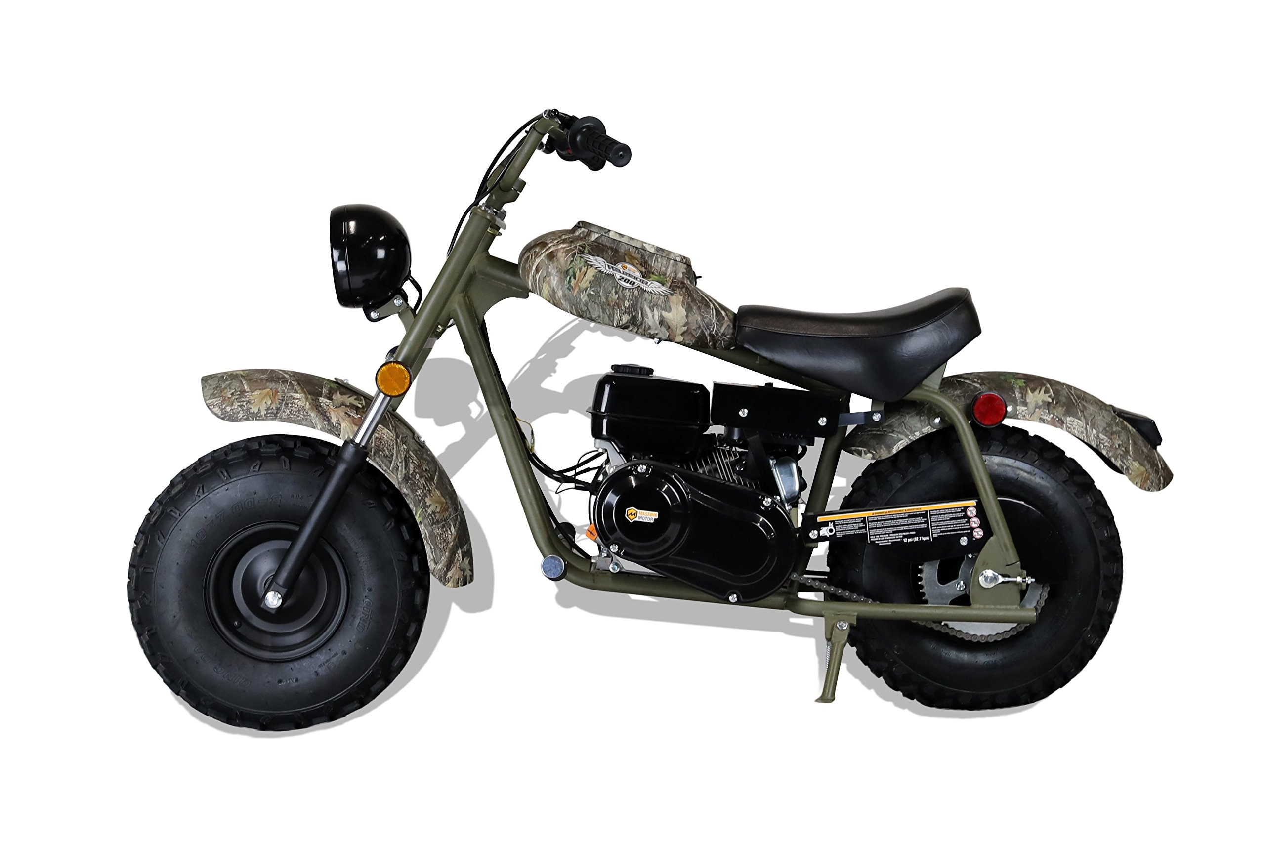 MASSIMO MB200 SUPERSIZED 196CC MINI BIKE - SHIPPING & WARRANTY INCLUDED! by M MASSIMO MOTOR (Image #2)