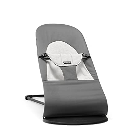 89ffab0f8e5 BABYBJÖRN Soft Balance Bouncer (Dark Grey Grey