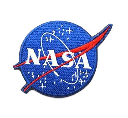 Amazon.com: Azul Heron Nasa Espacio explorer Logo 3.5 ...