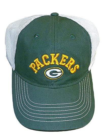 cd0221e0cf9 Image Unavailable. Image not available for. Color  Reebok Green Bay Packers  Flex Slouch Mesh Back NFL Team Apparel Hat ...
