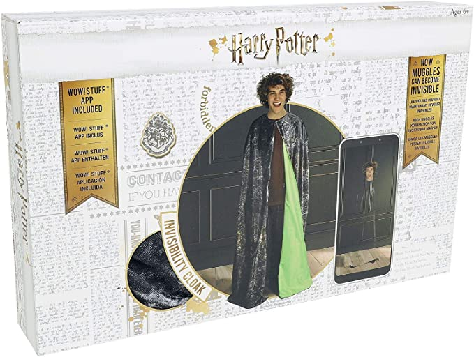 Amazon.com: WOW! Stuff Collection Harry Potter Invisibility Cloak - Standard Edition: Toys & Games