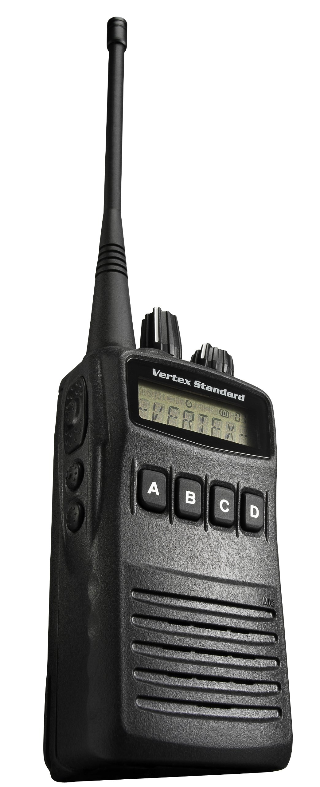 Vertex VX454-D0UN Business/Industrial Trunking Portable VHF Universal Radio Package with Display (Black)