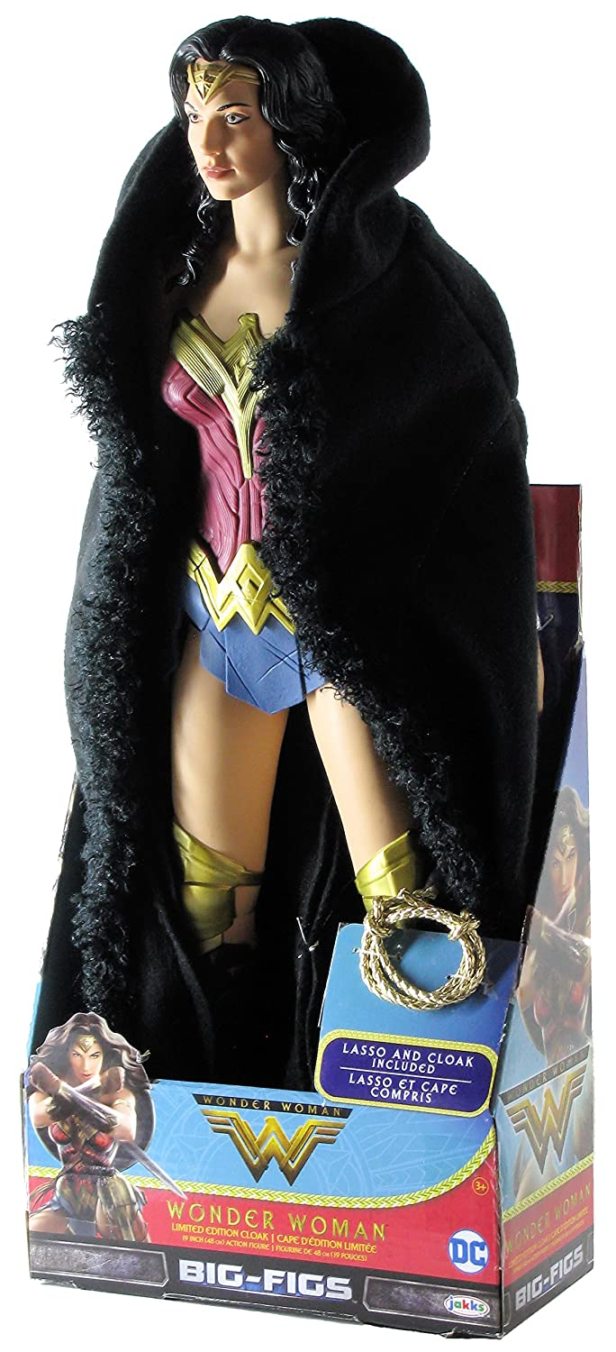Wonder Woman Movie 2017 Big Figs Limited Edition 19-Inch Figure with Cloak and Lasso