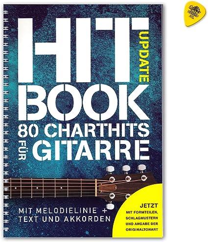 Hitachi portatil Update – 80 Chart Hits para guitarra con melodía línea + Texto y Acordes – Songbook con Dunlop Púa – Verlag Bosworth boe7887 ISBN: 9783865439826: Amazon.es: Instrumentos musicales