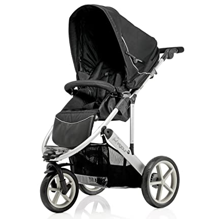 Britax vigor 3 tres ruedas carrito de bebé (gris negro): Amazon.es: Bebé