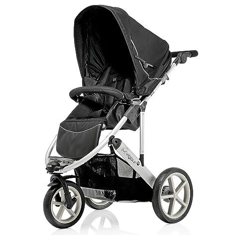 Britax vigor 3 tres ruedas carrito de bebé (gris negro)