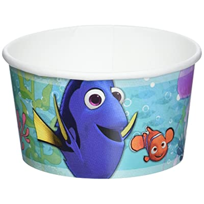 Finding Dory Ice Cream Treat Cups 8 Count: Toys & Games