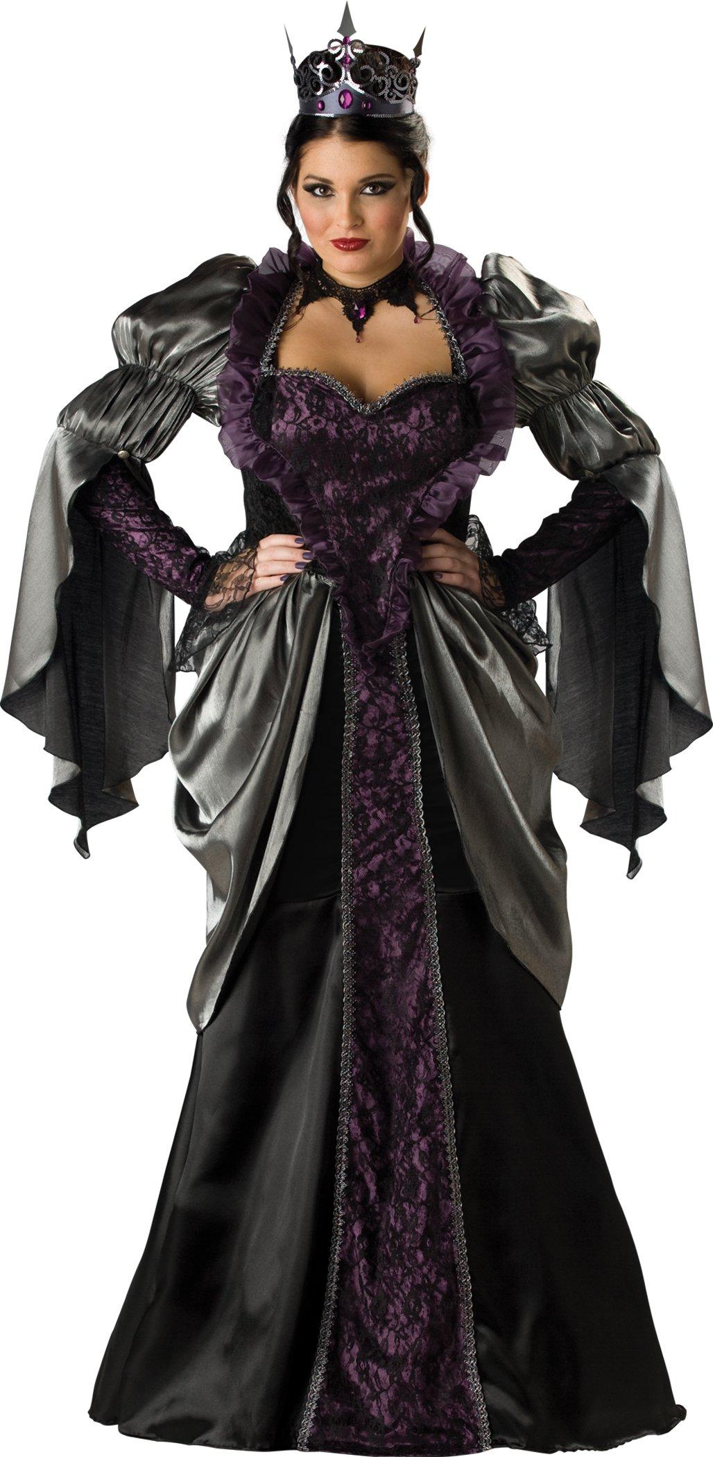 InCharacter Costumes Women'sPlus Size Wicked Queen Costume, Black, XXX-Large