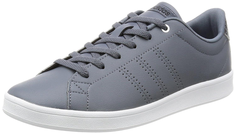 adidas Damen Advantage Clean QT Sneakers  36 2/3 EU|Grau (Onix/Onix/Msilve)