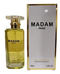 J&H YADAM PARIS Perfume, Eau de Parfum Spray Fragrance for Women, Wonderful Gift, Patchouli, Daytime and Casual Use, for all Skin Types, a Classic Bottle, 3.4 Fluid Ounce