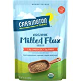 Carrington Farms Organic Milled Flax Seed, Gluten Free, USDA Organic, 14 Ounce (Pack of 3)