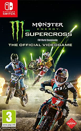 Monster Energy Supercross. The Official Videogame: Amazon.es ...