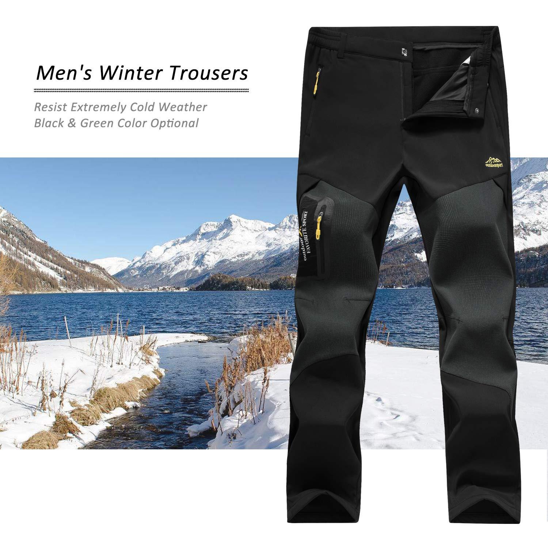 7VSTOHS Pantalones de Senderismo para Hombres Transpirable Ligero Ropa de Deporte Pantalones Deportivos c/ómodos Escalada Correr Montar Caminar Pantalones