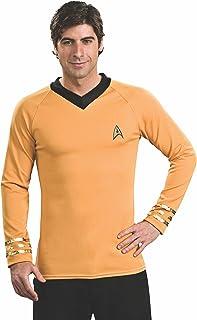 Rubieu0027s Star Trek Classic Deluxe Captain Kirk Shirt  sc 1 st  Amazon.com & Amazon.com: Star Trek into Darkness Spock Costume Toddler 1-2: Toys ...