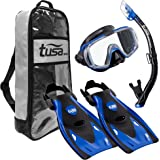 TUSA Sport Visio Tri-Ex Mask Series Travel Swimming Set