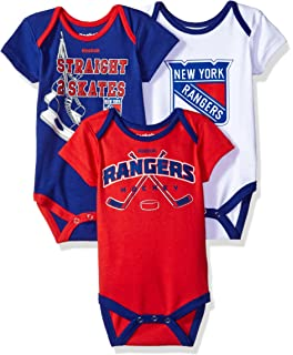 reputable site 32f79 9ba92 Amazon.com: New York Rangers Newborn Blue Hockey Jersey Long ...