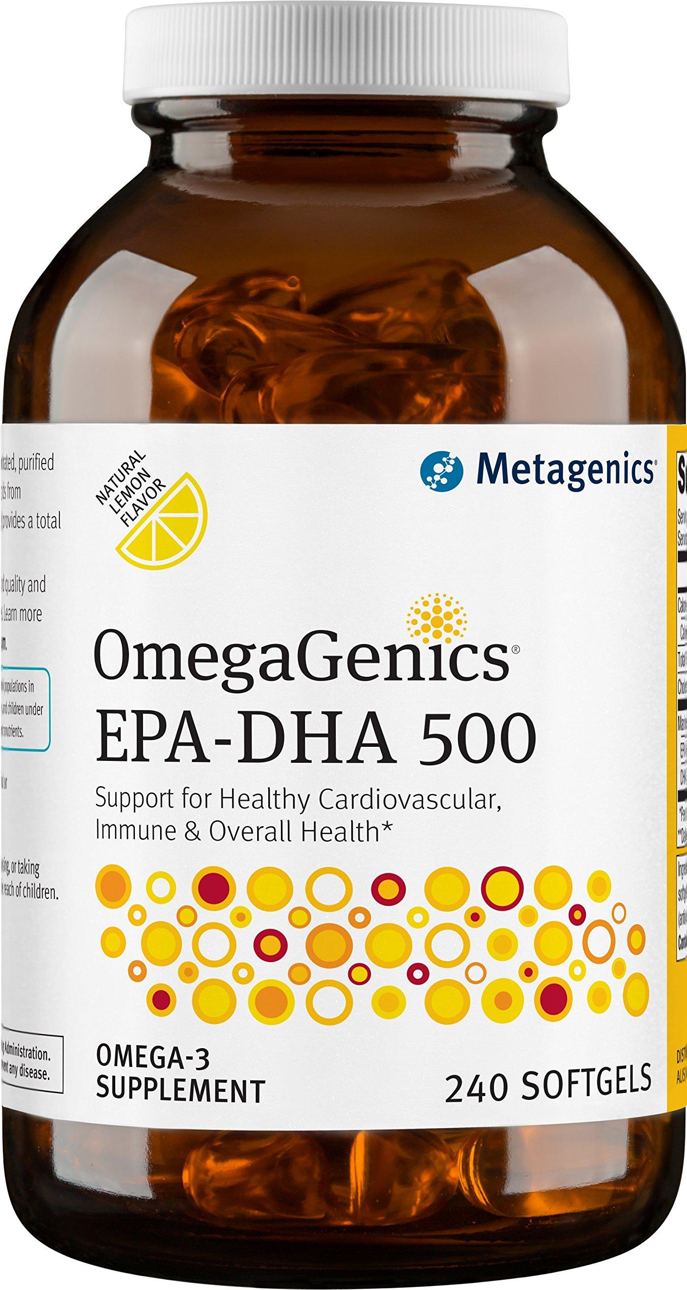 Metagenics - OmegaGenics EPA-DHA 500, 240 Count