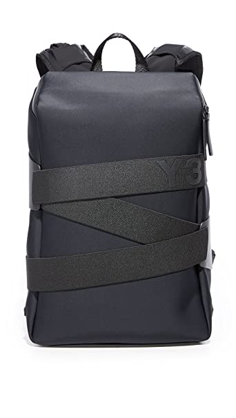 8229da48 Y-3 Men's Small Qrush Backpack, Black, One Size: Amazon.ca: Clothing ...