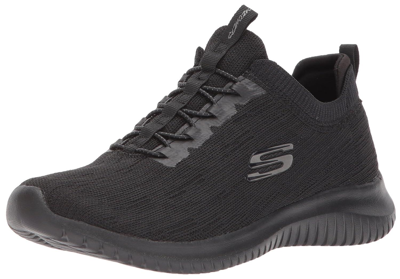 Skechers Damen Burst Sneakers Schwarz/Weiszlig; 38 M EU  36 EUSchwarz Anthrazit