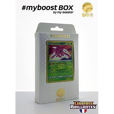Coffret #myboost GENESECT Brillant 9/73 - Soleil et Lune 3.5 Legendes Brillantes - 10 cartes Pokemon francaises