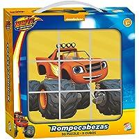 Cefa Toys - Rompecabezas Blaze y los Monster Machine (88244)
