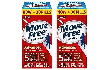 Amazon.com: Move Free Glucosamina y Chondroitin Comprimidos ...