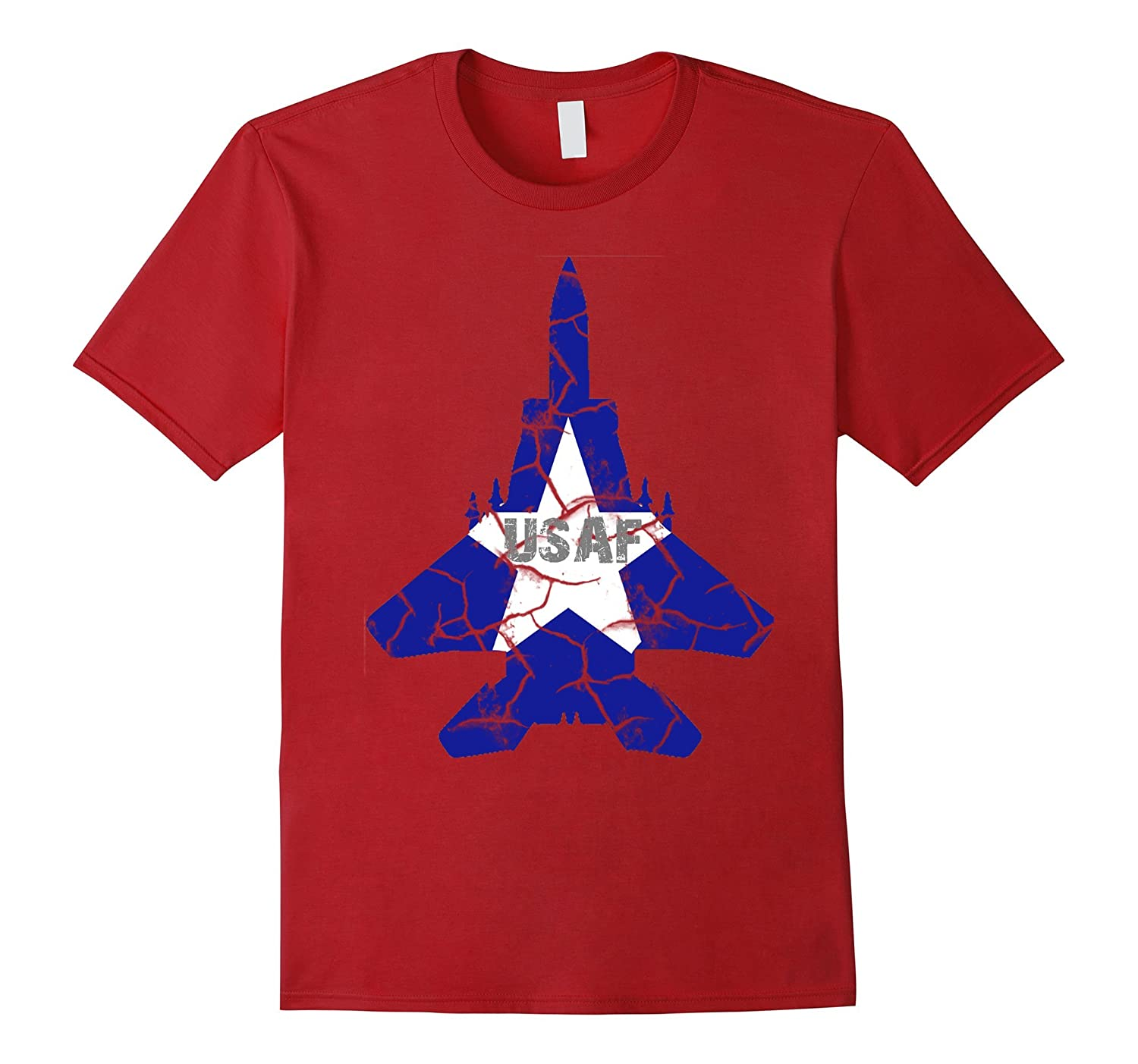 Air Force Aircraft Pilot Gifts T-Shirt USAF Proud Soldier-Art