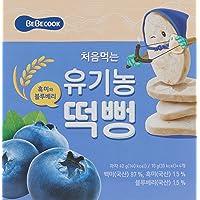 BeBecook My First Organic Rice Rusk Jumbo Box ,Blueberry