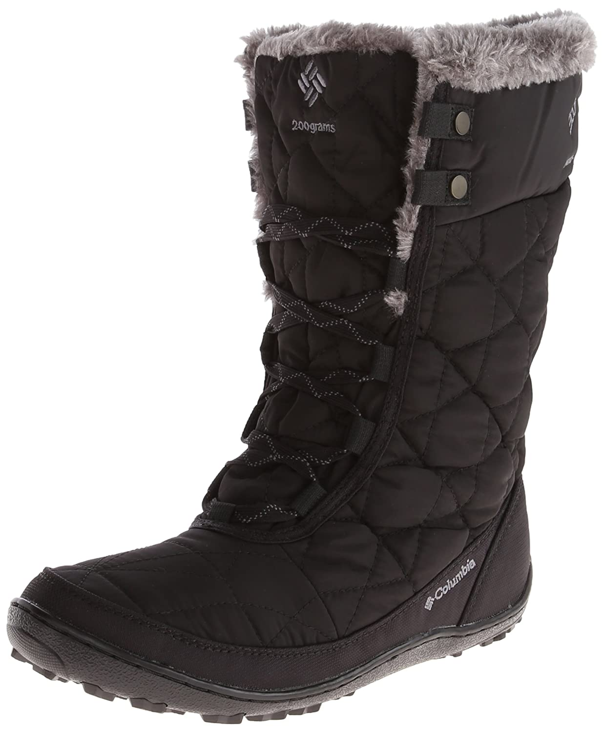 Columbia Women's Minx Mid II Omni-Heat Winter Boot B00GW8GHKG 6 B(M) US|Black, Charcoal