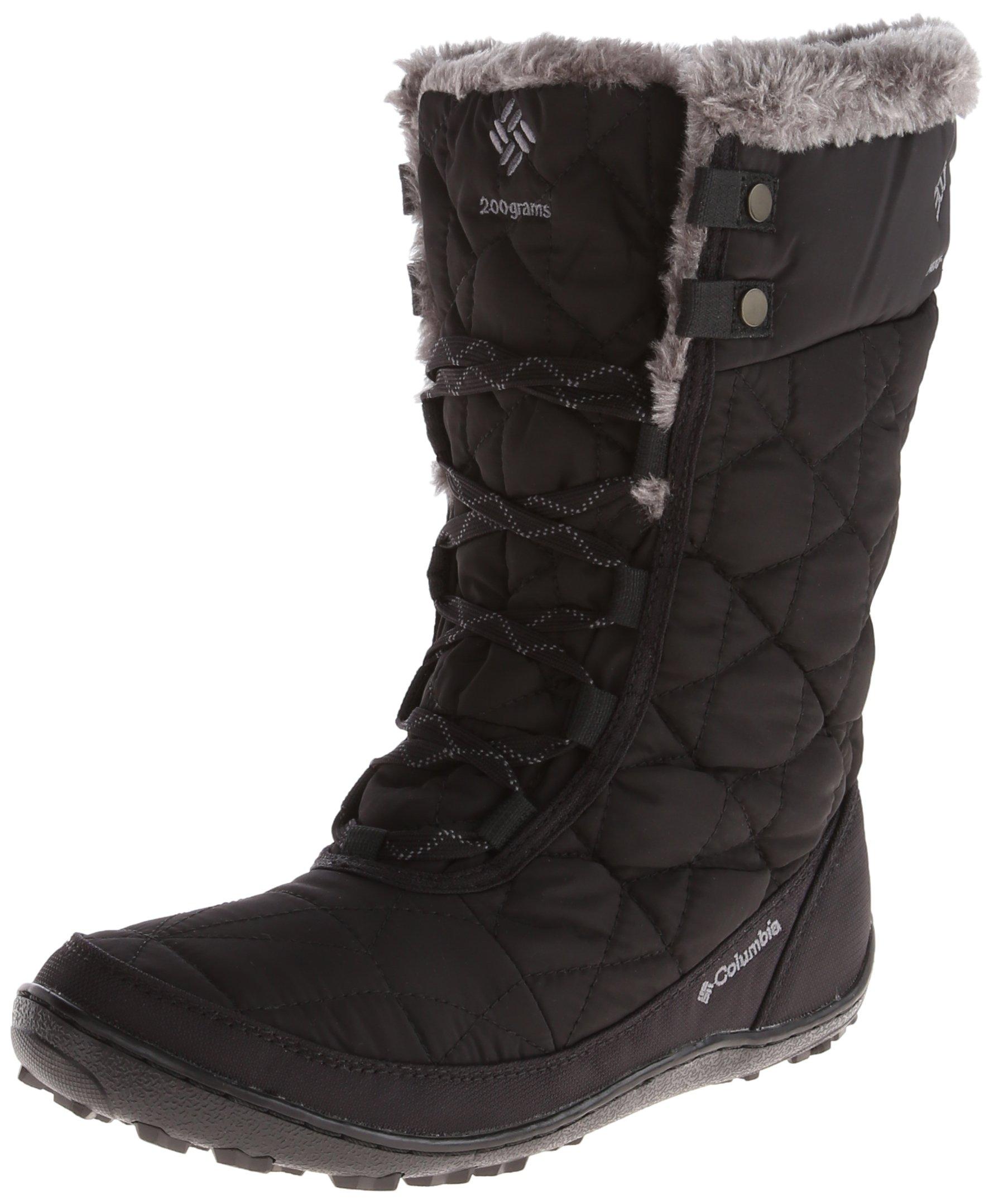 Columbia Women's Minx Mid Ii Omni-heat Snow Boot, Black, Charcoal, 9.5 B US