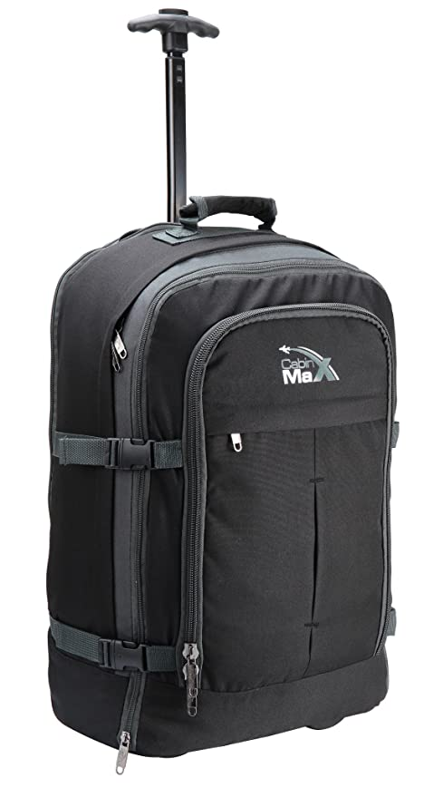 7ba9318a0b3 Cabin Max® Malmo Expandable Laptop Backpack Trolley Hand Luggage Suitcase -  55x40x20cm 44 litres -