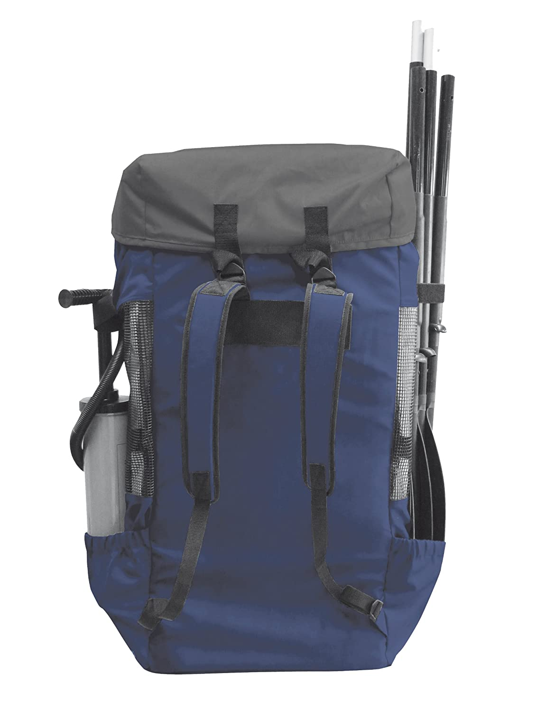Unisex 130 L Azul//Gris Sevylor QuikPak Mochila de Acampada
