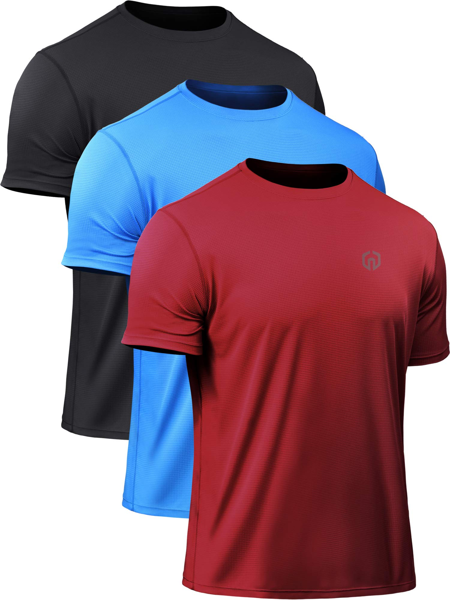 Neleus Mens Dry Fit Athletic Performance Shirt