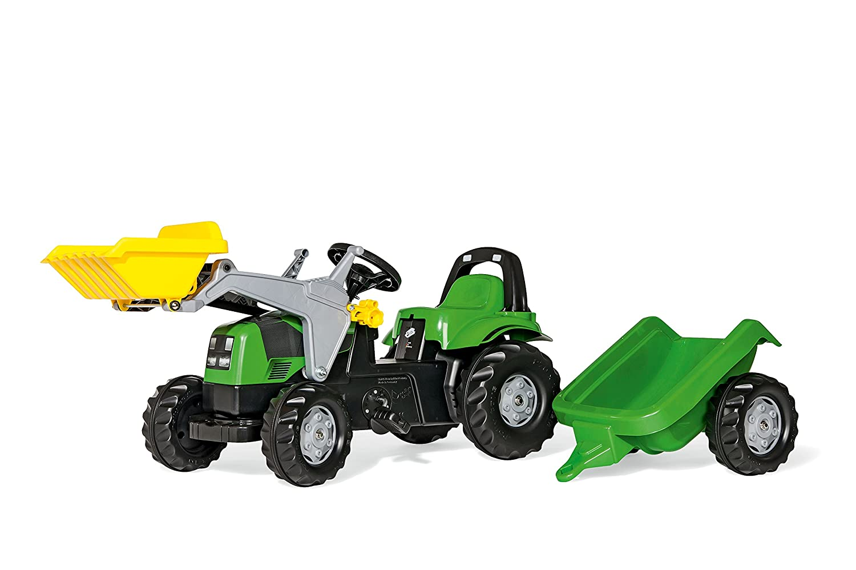 Deutz Trettraktor mit Anhänger - rollyKid Deutz