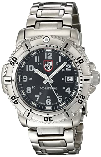 Luminox 7252 - Reloj de caballero de cuarzo, correa de acero inoxidable color plata: Luminox: Amazon.es: Relojes