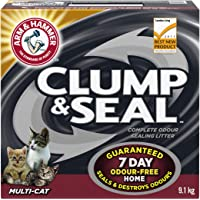ARM & HAMMER Clump & Seal Cat Litter, Multi-Cat, 9.1-kg