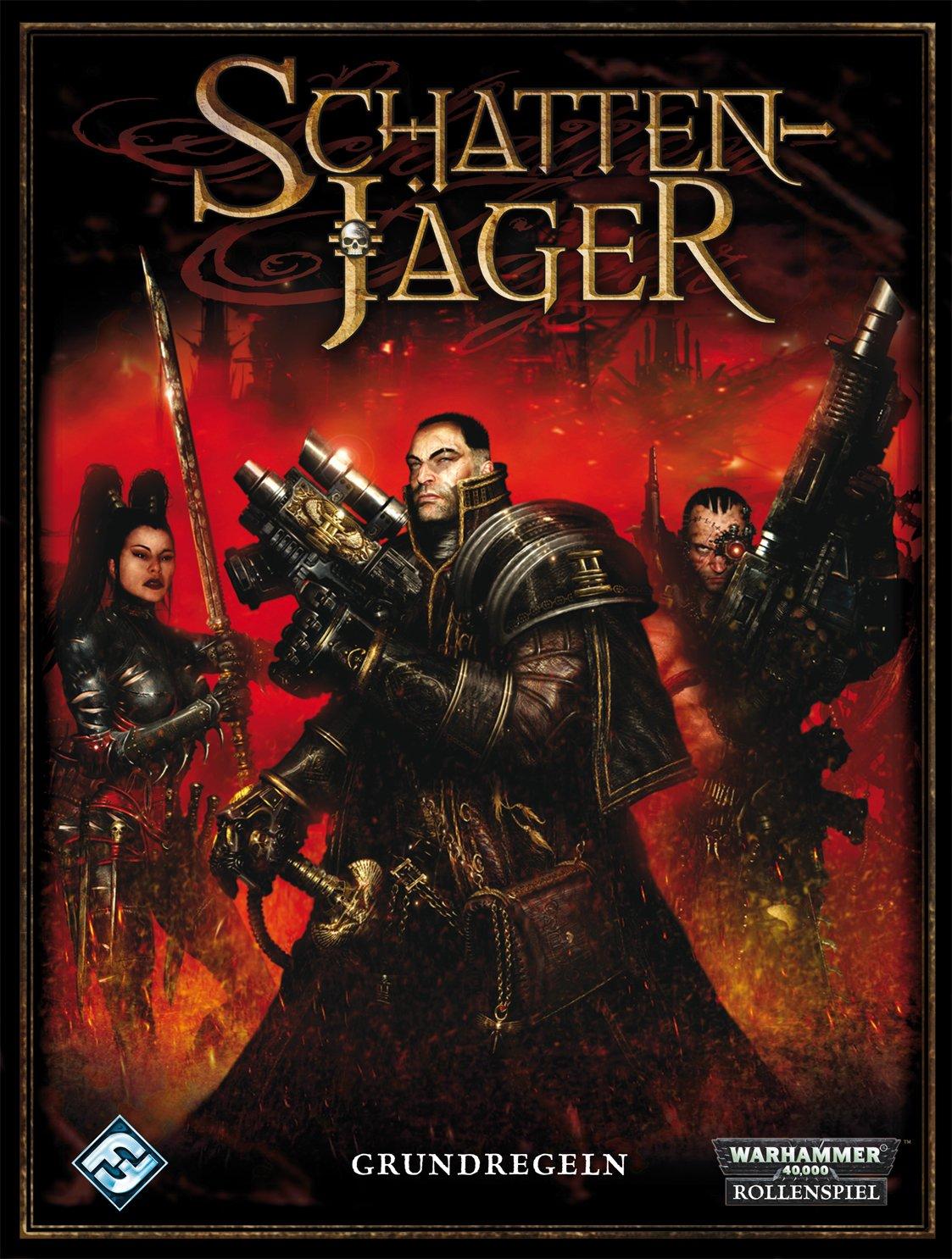 Warhammer 40.000: Schattenjäger:Grundregelwerk: Ein Grundregelwerk für das Rollenspiel Warhammer 40.000