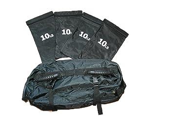 Bolsa de entrenamiento con pesas con extraíble bolsas: Amazon.es: Deportes y aire libre