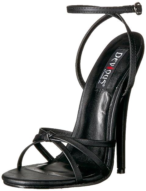 Amy Q - Sandalias de vestir de Material Sintético para mujer, color negro, talla 34 EU / 2 UK Mujer