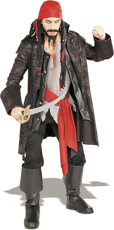 Rubbies 16844STD - Disfraz de capitán para hombre, talla M: Rubies ...